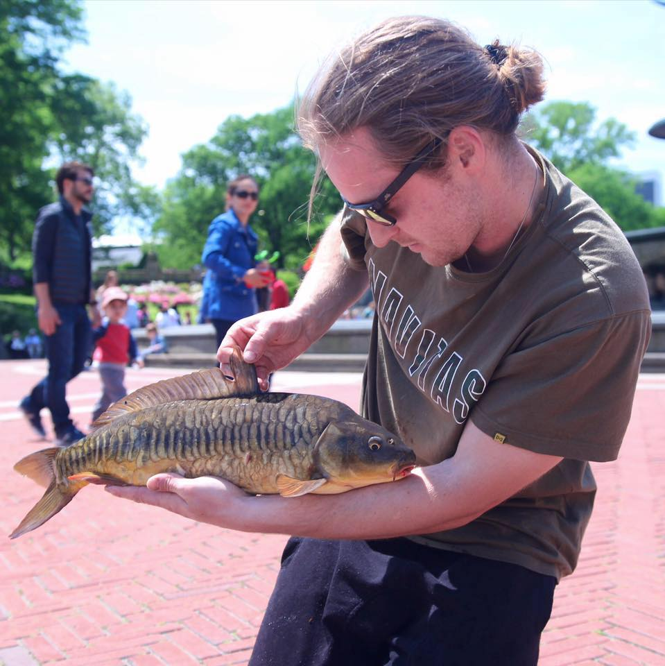 Must see vid: Carping in New York's Central Park